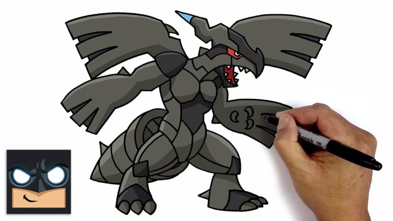 Come disegnare Zekrom | Pokemon