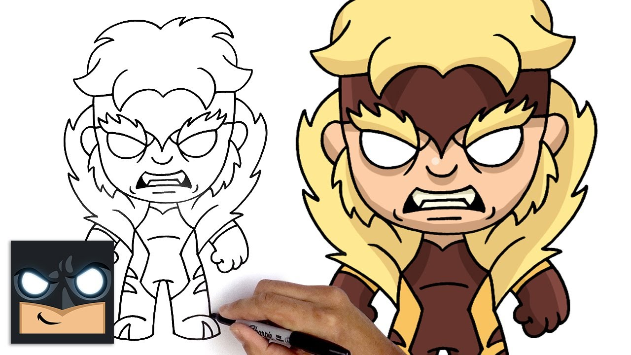 Come disegnare Sabretooth degli X-Men