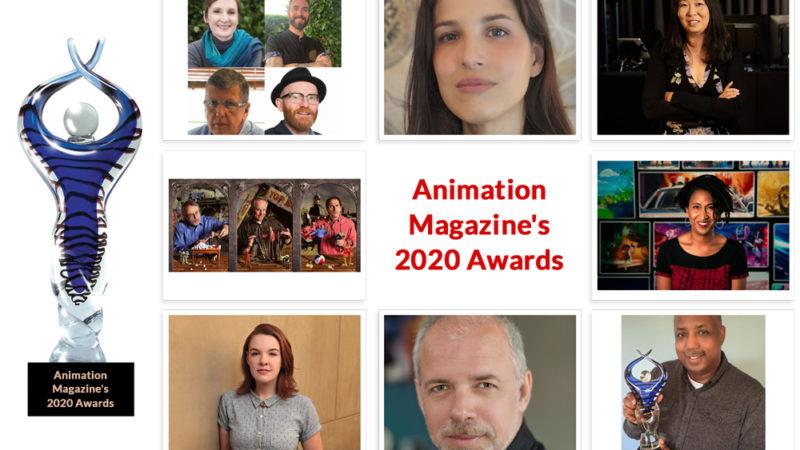 卓越性の祭典:アニメーションマガジンの2020年の賞