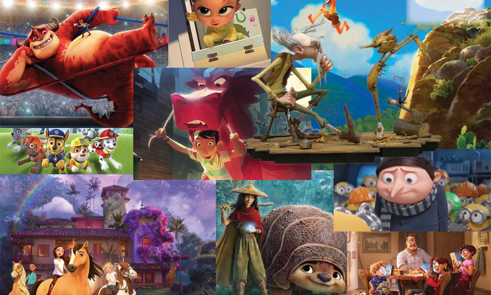 Tecknade Filmer 2013