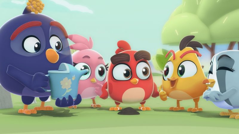 "Los Amigos의 ""Angry Birds Bubble Trouble""시리즈가 YouTube에 등장"