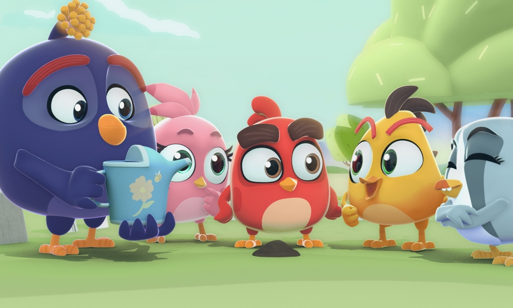 "Debutta su YouTube la serie ""Angry Birds Bubble Trouble"" di Los Amigos"