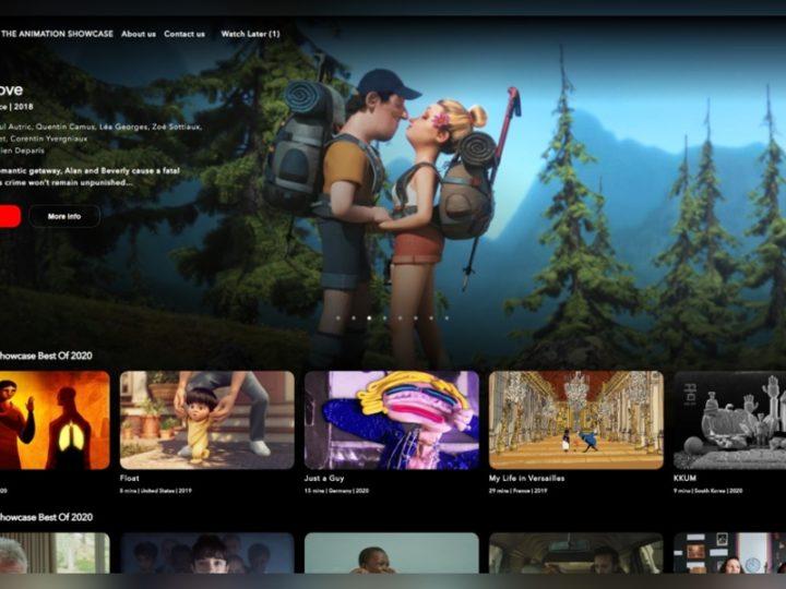 アニメーションショーケースが無料の産業用ストリーミングプラットフォームを発表
