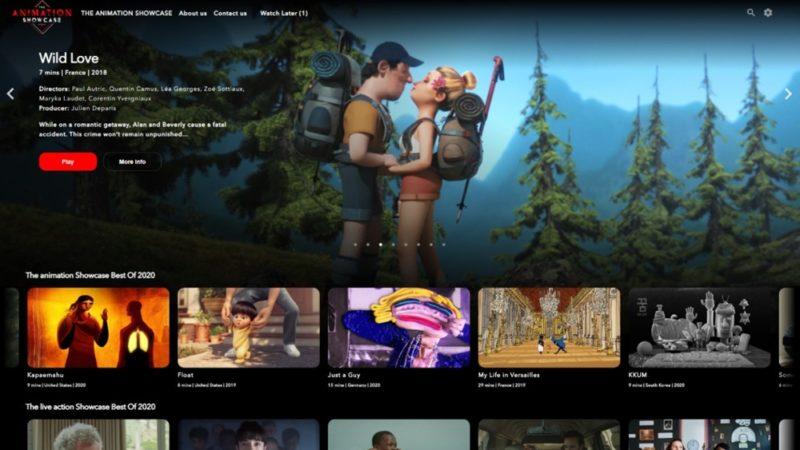 Animation Showcase lancia la piattaforma di streaming industriale gratuita