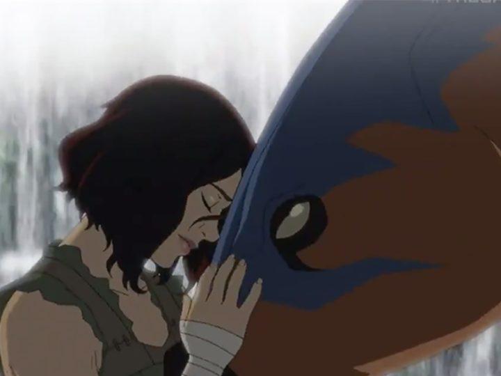 """Den animerade serien inspirerad av videospelet """"Ark"""" om dinosaurier"""