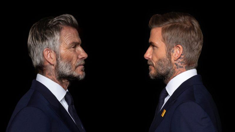 Digital Domain invecchia David Beckham per la campagna contro la malaria