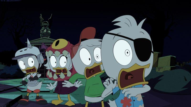 迪士尼确认取消DuckTales的第四季