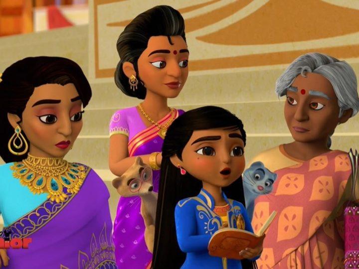 La vidéo (en anglais) de «Mira, Royal Detective» la série animée sur Disney Junior