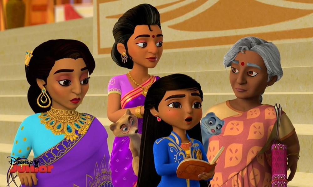 """Il video (in inglese) di """"Mira, Royal Detective"""" la serie animata su Disney Junior"""