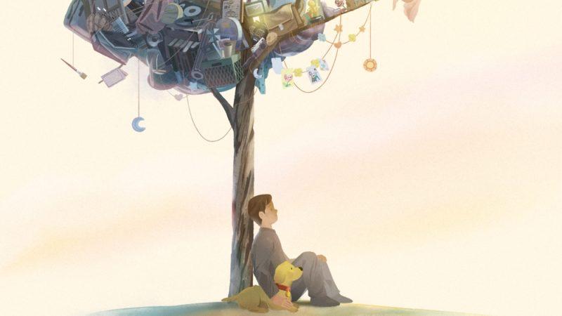 "Oculus 뷰어와 함께 Erick Oh의 가상 현실 영화""Namoo""Baobab"