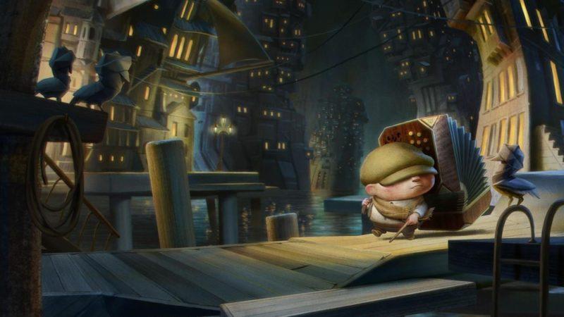 """3月10日在Oculus上为XNUMXD观看者制作的动画电影""""纸鸟"""""""