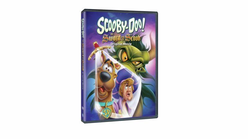 """""""Scooby Doo! The sword and the scoob """"o novo filme de animação para DVD em fevereiro"""