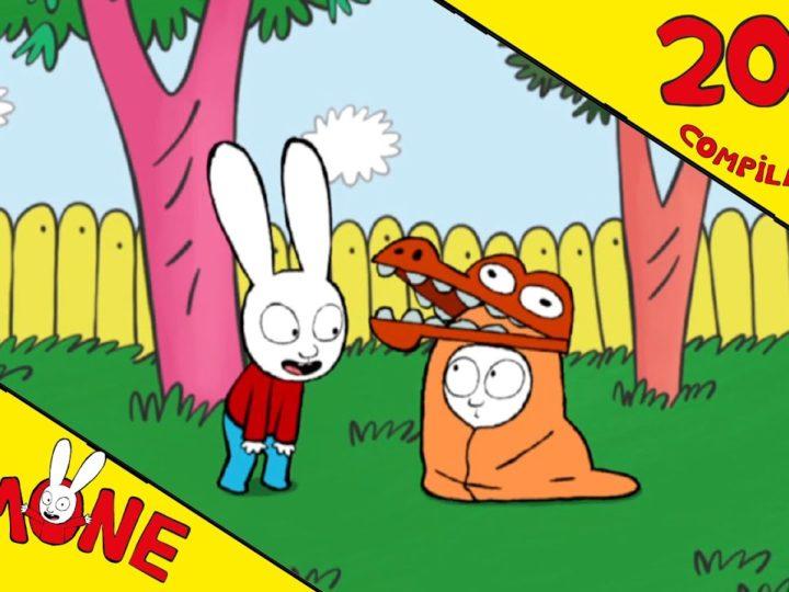 I video dei cartoni animati di Simone il coniglio
