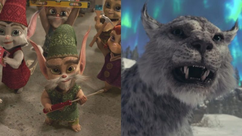 "Creazione di elfi, renne e gatti di Natale per ""The Christmas Chronicles 2"""