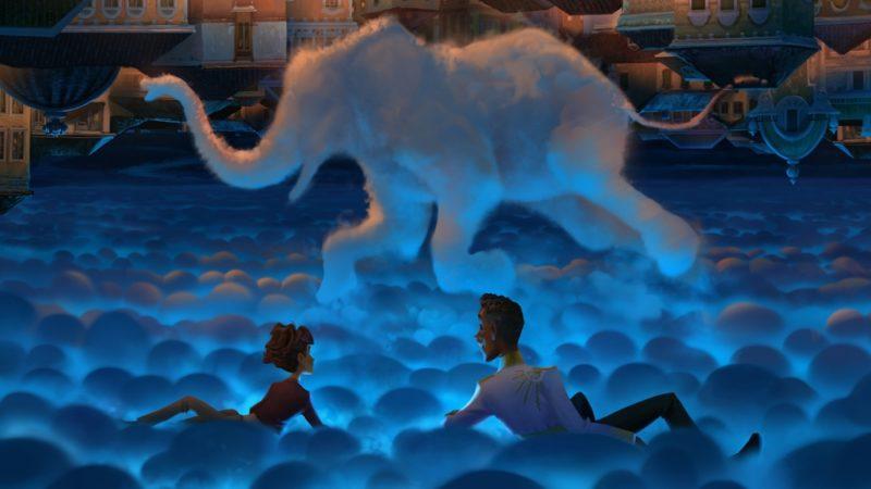Netflix制作的新动画电影《魔术师的大象》