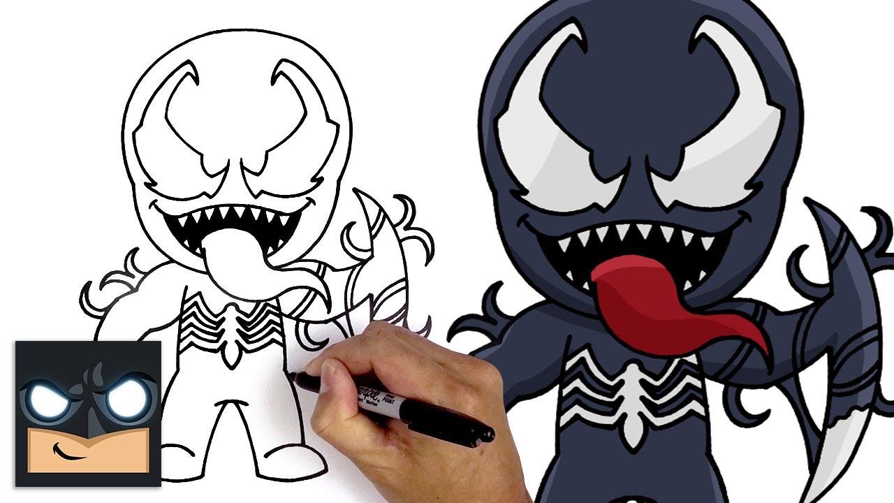 Come disegnare Mythic Venom della Marvel per Fortnite