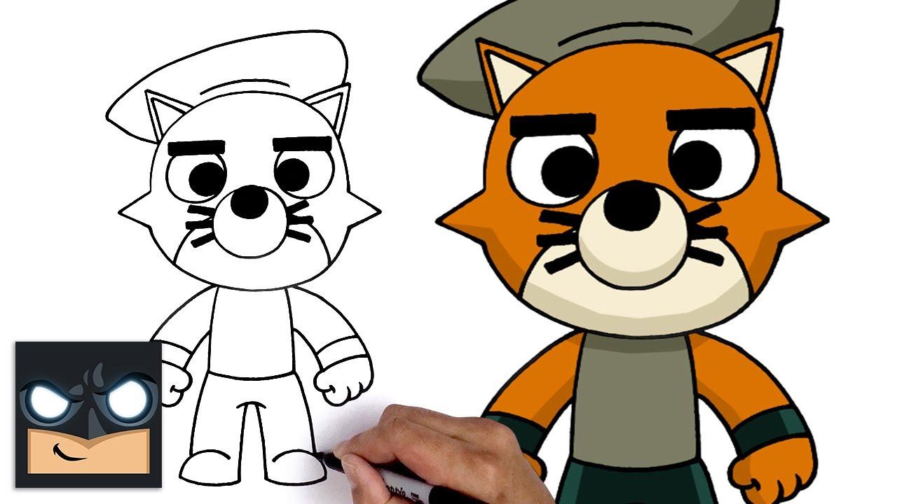 Come disegnare Felix di Roblox Piggy