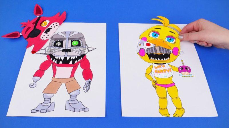 애니 마 트로닉스 캐릭터로 DIY 게임을 만드는 방법