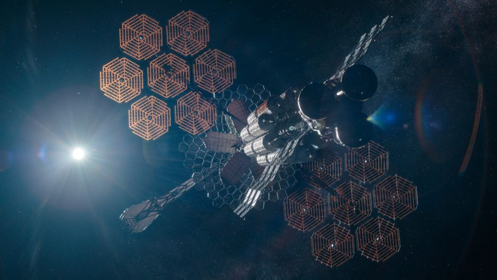 La nave del cielo di mezzanotte 'Aether'