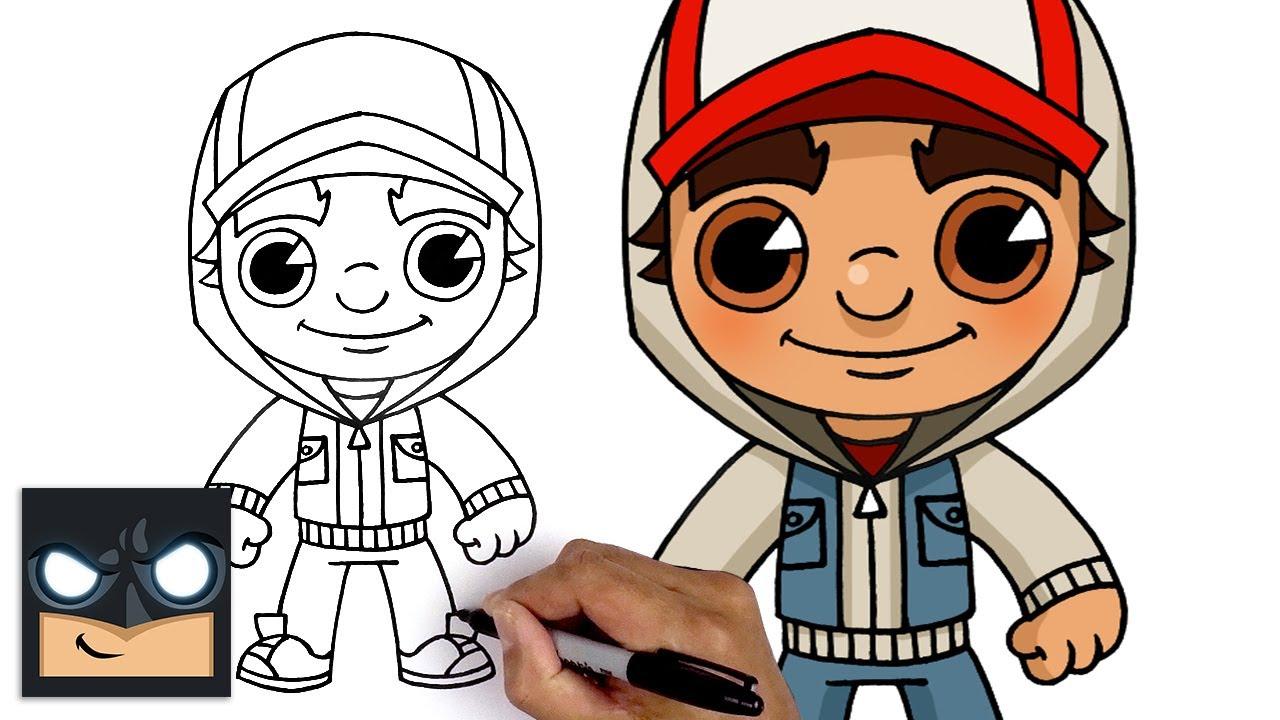 Come disegnare Jake | Subway Surfers