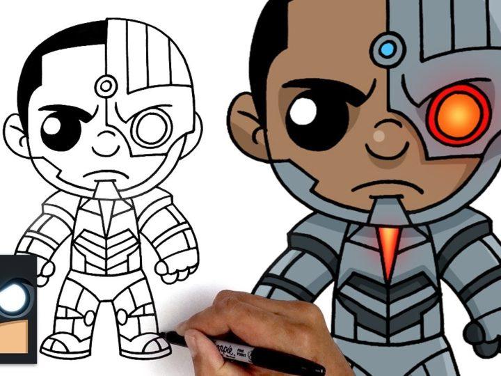 कैसे Cyborg आकर्षित करने के लिए | न्याय लीग
