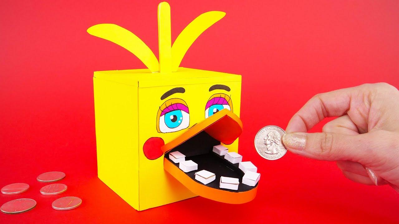 Come realizzare una papera salvadanaio con il cartoncino e altri giochi