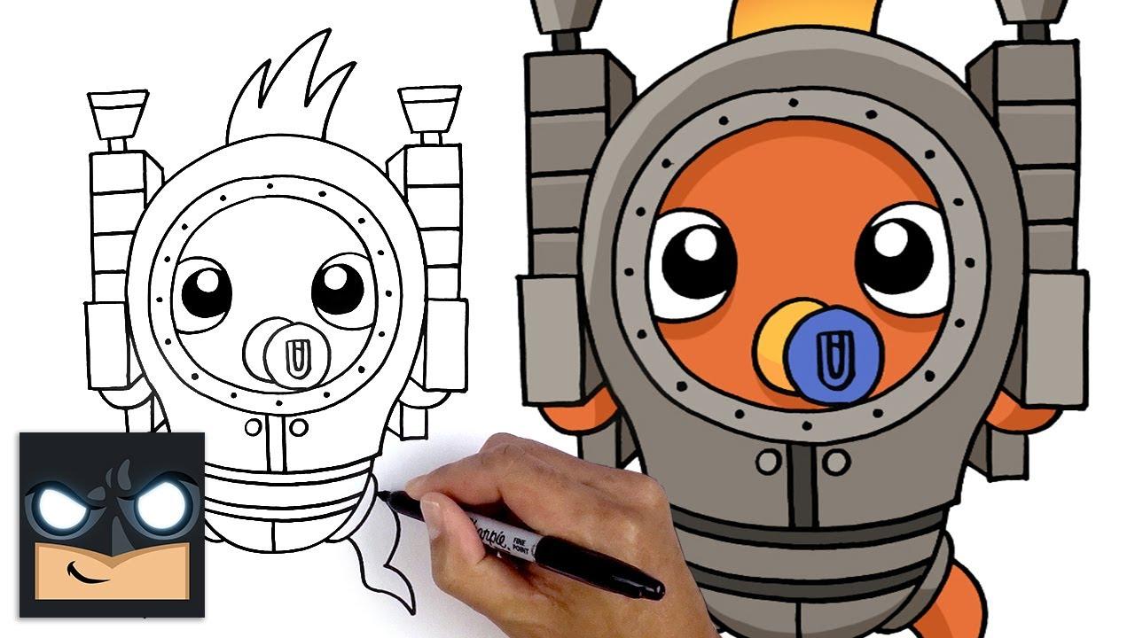 Come disegnare Dorsal Destroyer di Fortnite
