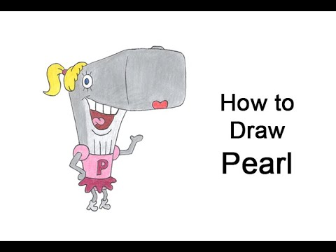 Come disegnare Pearl Krabs da SpongeBob SquarePants