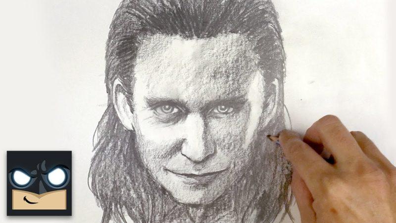 Come disegnare Loki | Schizzo sabato