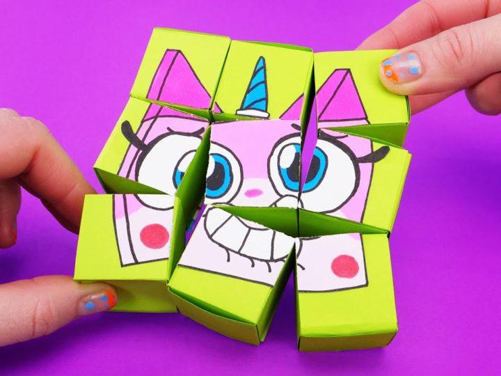 Come realizzare degli origami con i personaggi dei cartoni animati