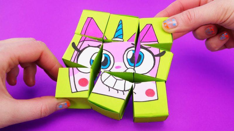 漫画のキャラクターで折り紙を作る方法