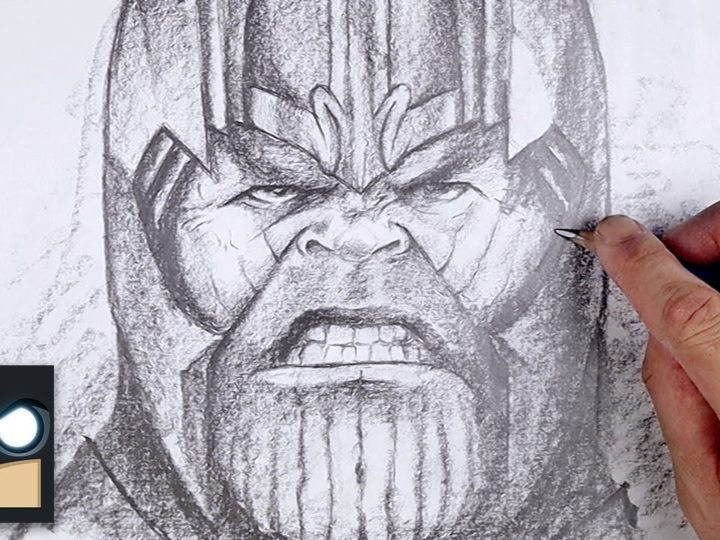 Como desenhar Thanos | Sketch Saturday