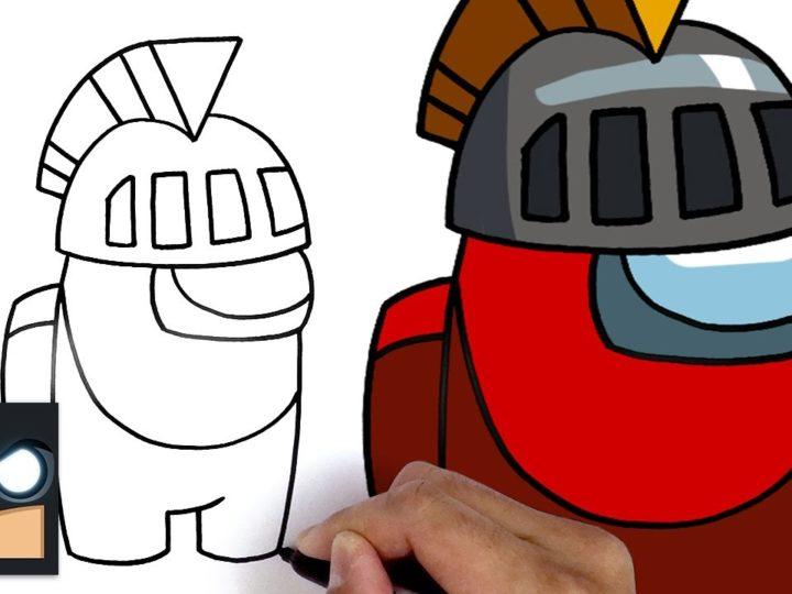如何绘制骑士新兵| 我们之间