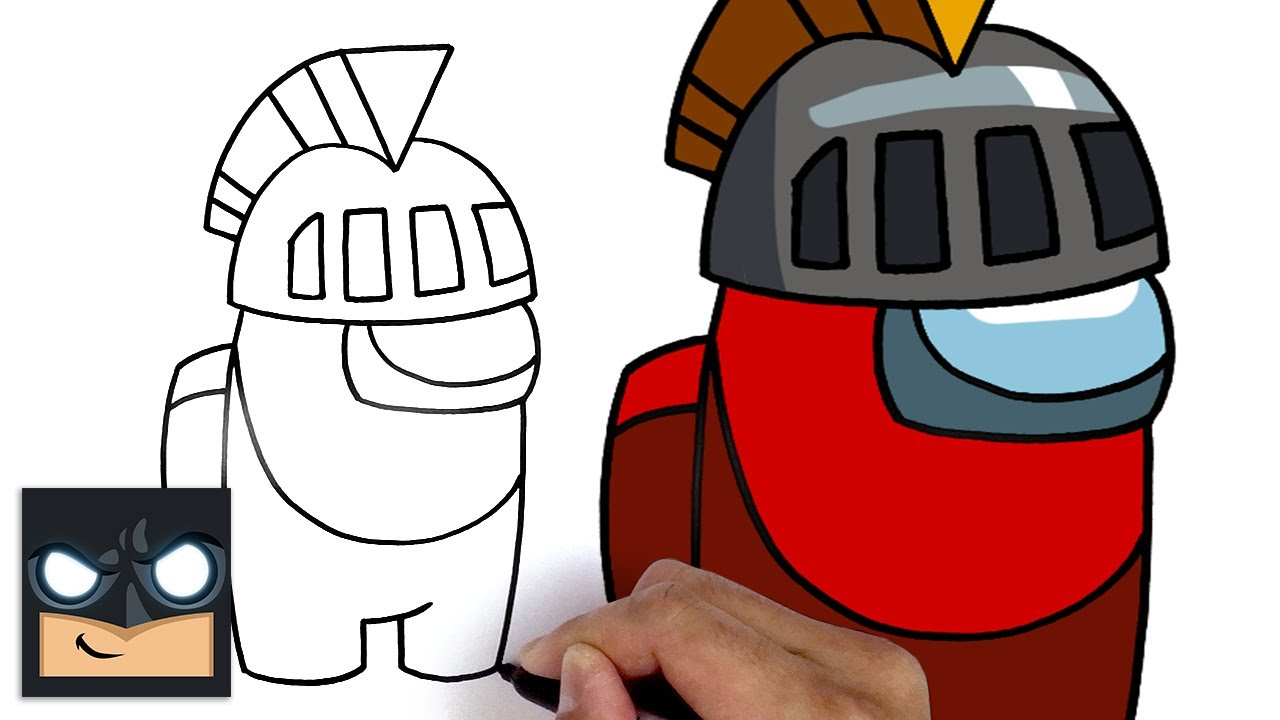 Come disegnare Knight Crewmate di Among us