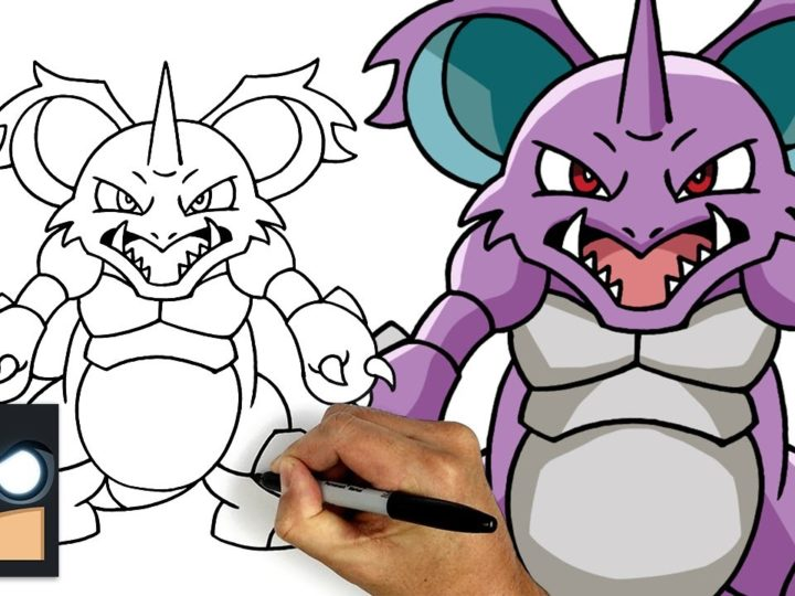 Come disegnare Nidoking | Pokemon