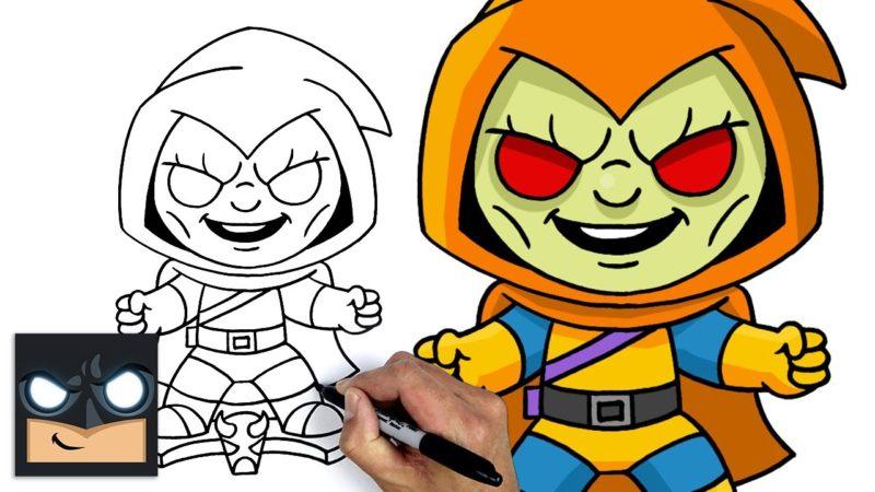 Como desenhar o Homem-Aranha Hobgoblin