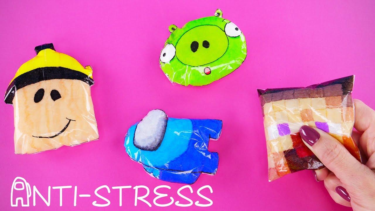Come realizzare dei giochi antistress con i personaggi di Among us