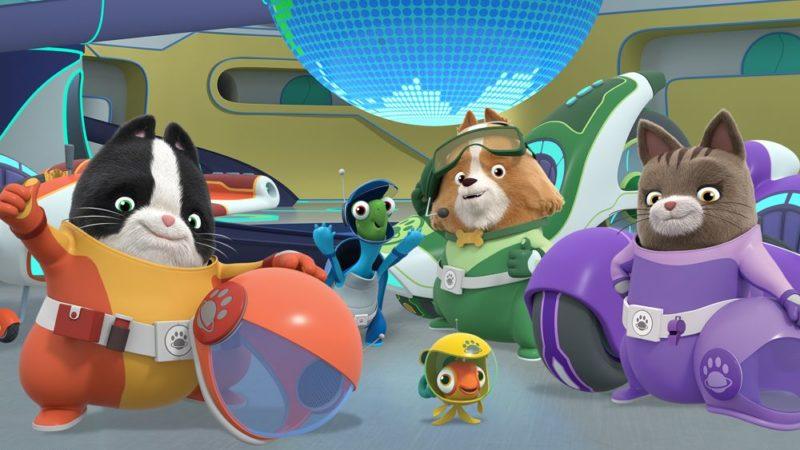 Alle systemen kiezen S2 uit Redknot's 'Agent Binky: Pets of the Universe'