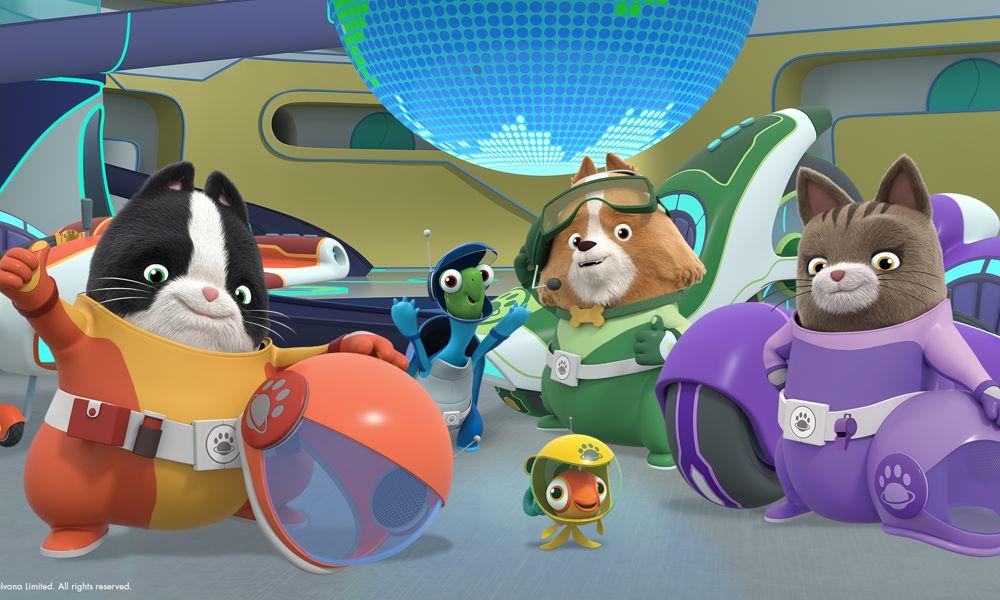 Tutti i sistemi scelgono S2 di 'Agent Binky: Pets of the Universe' di Redknot
