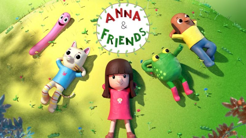 """Anna & Friends"" den förskolan animerade serien Superprod och Atmosphere"