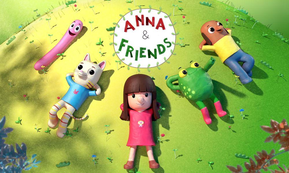 """""""Anna &Friends"""" la serie animata prescolare di Superprod e Atmosphere"""