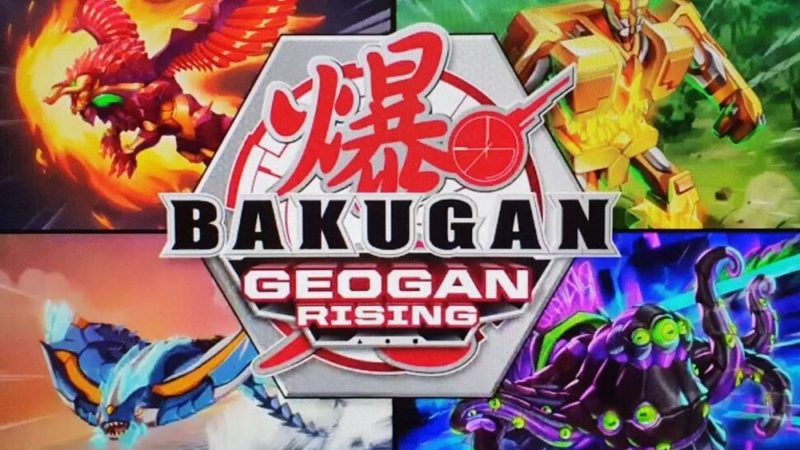 """Bakugan: Geogan Rising"" to trzeci sezon Bakugan"