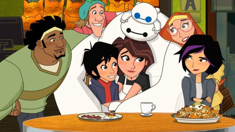"I doppiatori di ""Big Hero 6"" la serie animata, si riuniscono prima del finale – video"