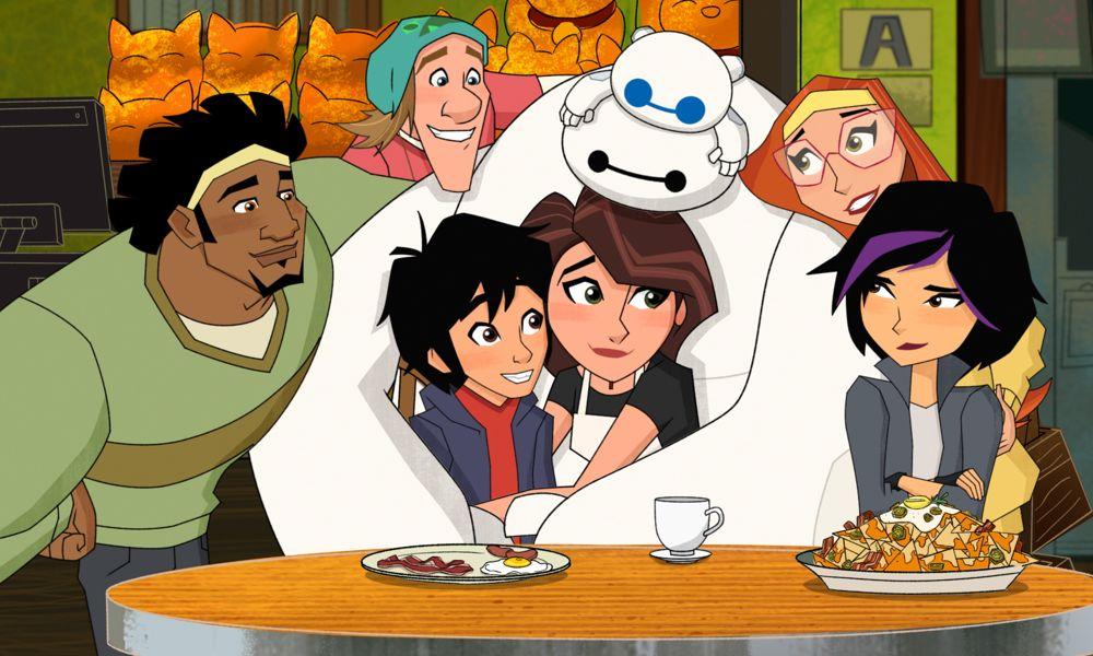 """I doppiatori di """"Big Hero 6"""" la serie animata, si riuniscono prima del finale – video"""
