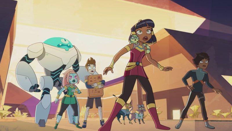 """La terza stagione di """"Cleopatra in Space"""" debutterà su Peacock il 14 gennaio"""