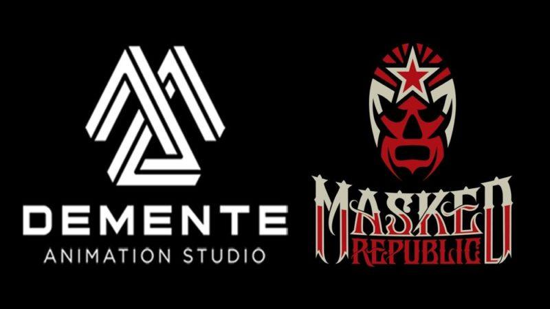 Demente Animation과 Masked Republic, lucha libre에 대한 만화 제작
