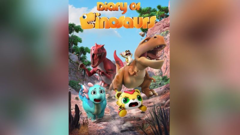 O filme Diário dos Dinossauros estreia na China, nos cinemas no dia 1º de maio.