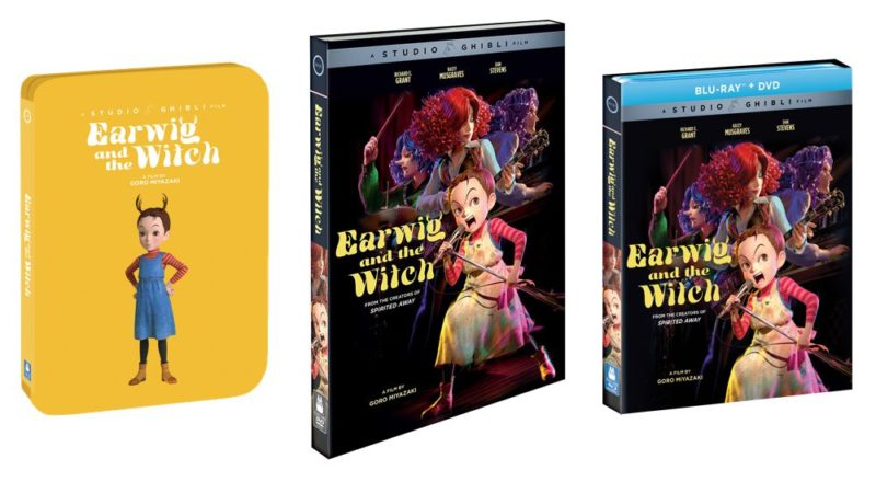 Earwig and the Witch, se lanzará en plataformas digitales el 23 de marzo