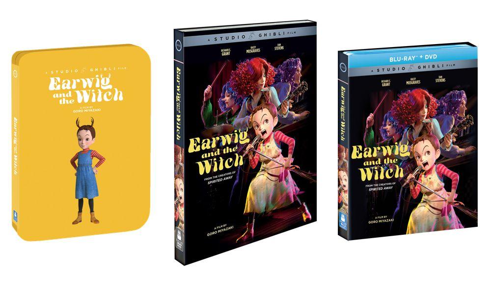 Earwig e la strega, uscirà sulle piattaforme digitali il 23 marzo