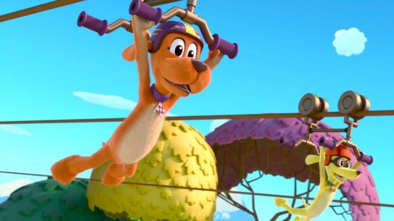 """""""去,去,去!""""预告片26月XNUMX日在Netflix上发布的梦工厂系列"""